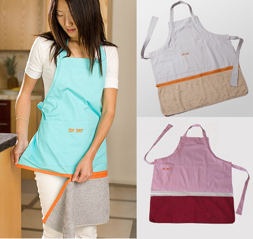 Zip-Dry-Apron-Towel