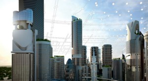 Smart cities of the future will have to cope with swelling populations