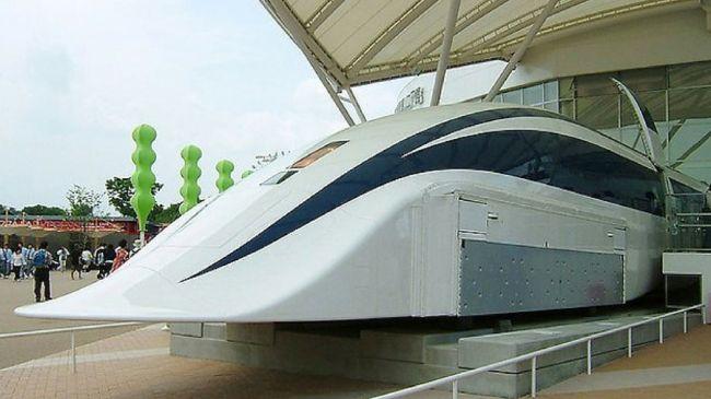 The Maglev will barrel along at 310mph