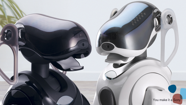 There's something wonderfully lifelike about the Aibo's design.