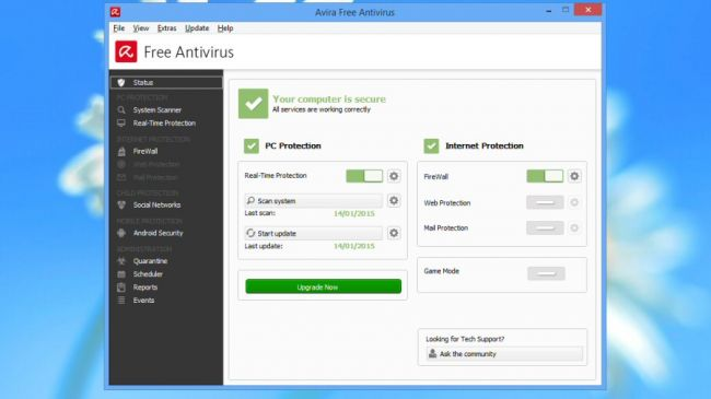 Avira Free provides better protection than many paid products