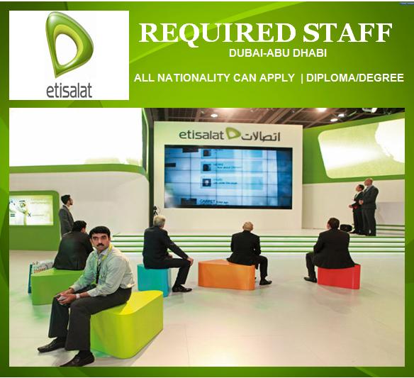 Etisalat Careers Careers - mandegar info